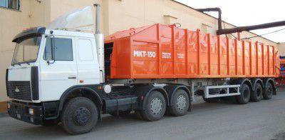 Транспортные мусоровозы